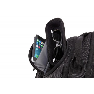 """15"""" NB Backpack  THULE - Crossover 32L, Black, Safe-zone, Dobby Nylon, Dimensions: 31.5 x 31 x 47 cm, Weight 1 kg, Volume 32L"""