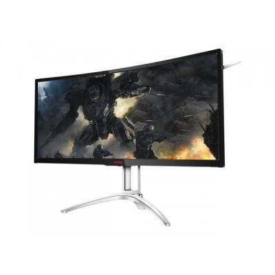 "35.0"" AGON MVA LED AG352QCX Black (4ms, 50M:1, 21:9, 300cd, 2560x1080 200Hz, 178°/178°,  Display Port, HDMI, DVI, Speakers, Height Adjustment, USB 3.0 x 4, VESA)"