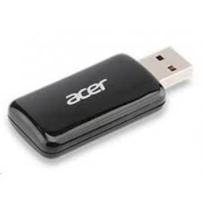 ACER USB WIRELESS ADAPTER DUAL BAND, Compatible with K130, K135, K135i, K335, P1273B, P1373WB, P5207B, P5307WB, P7500, P7505 projectors