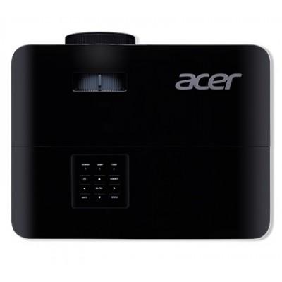 ACER X118H (MR.JPV11.001) DLP 3D, SVGA, 800x600, 20000:1, 3600Lm, 6000hrs (Eco), HDMI, VGA, USB-A, 3W Mono Speaker,  Black, 2.7kg