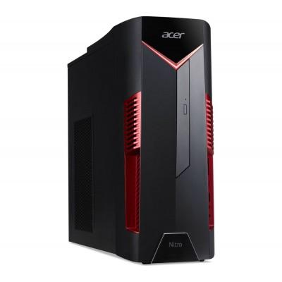 Acer Nitro 50-600 MT (DG.E0MME.014) Intel® Core® i3-8100 3.60 GHz, 8GB DDR4 RAM, 1TB HDD, DVDRW, Cardreader, NVIDIA GTX1050Ti 4GB Graphics, 500W PSU, Endless OS, no KB/MS, Black/Red