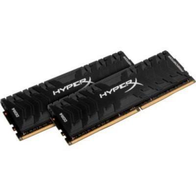 32GB (Kit of 2*16GB) DDR4-3200  Kingston HyperX® Predator DDR4, PC25600, CL16, 1.35V, BLACK heat spreader, Intel XMP Ready (Extreme Memory Profiles)