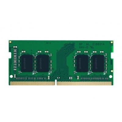 16GB DDR4-2666 SODIMM  GOODRAM, PC21300, CL19, 1024x8, 1.2V