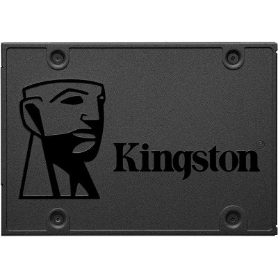 """2.5"""" SSD 960GB  Kingston A400, SATAIII, Sequential Reads:500 MB/s, Sequential Writes:450 MB/s, 7mm, Controller Phison PS3111, 3D NAND TLC"""