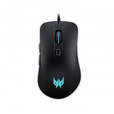 ACER Predator Cestus 310 Gaming Mouse4 PMW920 -  USB optical, 4200dpi,  4 colored LED breath light backlit in scroll wheel, logo, cable 1.8m, 133g