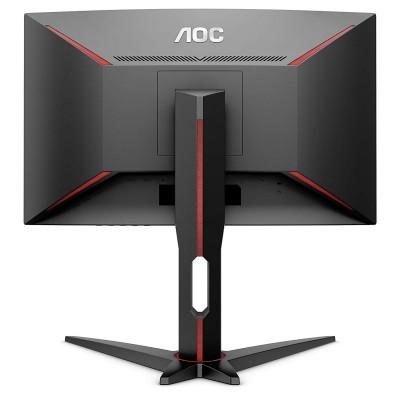 "27.0"" AOC VA LED C27G1 Curved Borderless Black (1ms, 3000:1, 300cd, 1920x1080, 178°/178°, Refresh Rate 144Hz, Curvature 1800R, AMD FreeSync, sRGB coverage 102, VGA, HDMIx2, DisplayPort, Audio Line-out, VESA)"