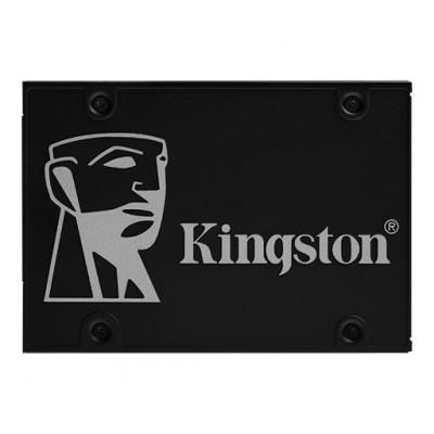 "2.5"" SSD 1.0TB  Kingston KC600, SATAIII,SeqReads:550 MB/s, SeqWrites:520 MB/s, Max Random 4k Read:90000 IOPS/ Write: 80000 IOPS,7mm, Controller SM2259, XTS-AES 256-bit encryption, 3D NAND TLC"