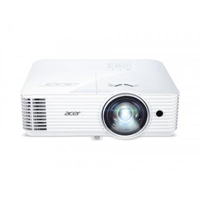 ACER S1386WH (MR.JQU11.001), DLP 3D, WXGA, Short Throw, 1280x800, 3600lm, 20000/1, VGA, HDMI, Audio Line-out, Speakers 16W, 3.1kg, EURO EMEA, White