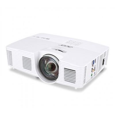 ACER H6517ST (MR.JLA11.001)DLP 3D,Short-Throw, 1920x1080, 20000:1,3000Lm, 6000hrs (Eco), HDMI, VGA, USB, 2W Mono Speaker, Bag, White, 2,5 Kg