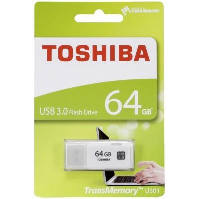 64GB USB2.0  Toshiba TransMemory U202, White, Compact and lightweight, Mini size (Read 16 MByte/s, Write 7 MByte/s)