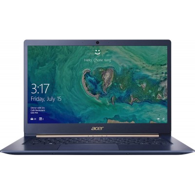 """ACER Swift 5 Charcoal Blue (NX.HHUEU.003), 14.0"""" IPS FHD Multi-Touch  (Intel Core i5-1035G1 4xCore, 1.0-3.6GHz, 8GB (1x8) DDR4 RAM, 256GB PCIe NVMe SSD, Intel UHD Graphics, WiFi-AC/BT, FPS, Backlit KB, 4cell,HD Webcam, RUS, 0.99kg,14.9mm)"""
