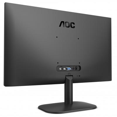 "27.0"" AOC IPS LED 27B2H Black Borderless (7ms, 20M:1, 250cd, 1920x1080, 178°/178°, VGA, HDMI, Audio Line-out)"