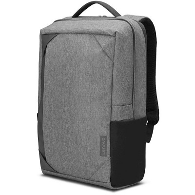 """15.6"""" Lenovo ThinkPad - Business Casual Backpack, Durable and Water-Resistant Polyester, Charcoal Grey"""