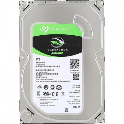"""3.5"""" HDD 1.0TB  Seagate ST1000DM010 BarraCuda™ Compute, 7200rpm, 64MB, SATAIII, FR"""