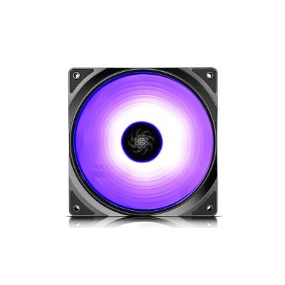 """140mm Case Fan - DEEPCOOL """"CF 140-2 IN 1""""  2x  A-RGB LED 140x140x26mm, 500-1200rpm, <19.8~24dBa, 64.13CFM, Hydro Bearing, 4Pin, PWM, 12V RGB 4-pin port"""