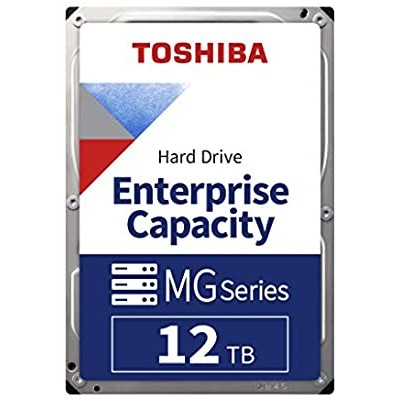 "3.5"" HDD 12.0TB  Toshiba  MG07ACA12TE  Enterprise® Capacity / Server, 512E model, 24x7, 7200rpm, 256MB, SATAIII"