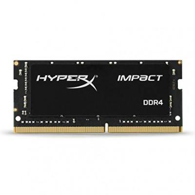 32GB DDR4-2666 SODIMM Kingston  HyperX® Impact, PC21300, CL16, 2Rx8, 1.2V
