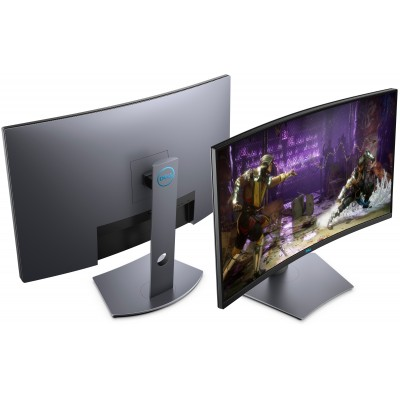 """31.5"""" DELL VA LED S3220DGF Curved QHD Black (1ms, 1M:1, 400cd, 2560x1440, 178°/178°, 165Hz Refresh Rate, AMD FreeSync 2, HDMI x 2, DisplayPort, USB Hub: 3 x USB3.0 , Audio Line out, .VESA .)"""