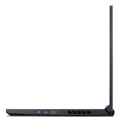 "ACER Nitro AN515-45 Shale Black (NH.QBCEU.00C) 15.6"" FHD IPS 144Hz (AMD Ryzen 7 5800H 8xCore 3.2-4.4GHz, 16GB (2x8) DDR4 RAM, 512GB PCIe NVMe SSD+HDD Kit, GeForce RTX 3060 6GB GDDR6, WiFi6-AX/BT5, 4cell, HD Webcam, RUS, Backlit, No OS, 2.2 kg)"