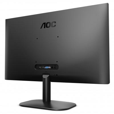 "23.8"" AOC IPS LED 24B2XH Black Borderless (4ms, 50M:1, 250cd, 1920x1080, 178°/178°, VGA, HDMI, Audio Line-out,  VESA)"