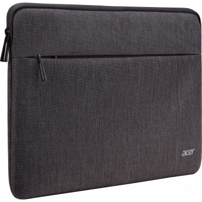 """14.0"""" NB Bag - ACER PROTECTIVE SLEEVE DUAL TONE DARK GRAY WITH FRONT POCKET FOR 14"""""""