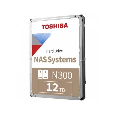 "3.5"" HDD 12.0TB  Toshiba HDWG21CUZSVA  N300, NAS Hard Drive, 24x7, 7200rpm, 256MB, SATAIII"