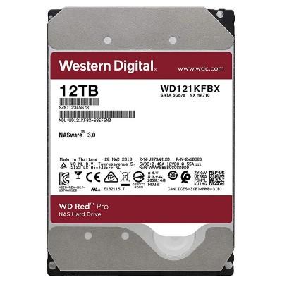 3.5'' HDD 12.0TB  Western Digital WD121KFBX Caviar® Red™ PRO Enterprise NAS, 24x7, CMR Drive, 7200rpm, 256MB, SATAIII