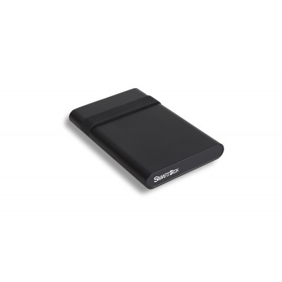 """2.5"""" External HDD 1TB (USB3.2) SmartDisk (by Verbatim) Mobile Drive 1TB with Cable Tidy, Black, Official Recertified Hard Drives, Tested Verbatim quality standards"""