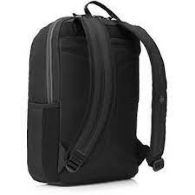 """15.6"""" NB Backpack - HP Commuter Laptop Backpack (Black), Laptop and Tablet Compartment, Exterior Water Bottle Pockets, Water-Resistant, Reflective Accent."""