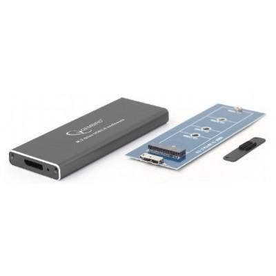 ".M.2 SATA  SSD Enclosure Kit Gembird ""EE2280-U3C-01"" USB3.1, Aluminum"