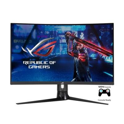 """31.5"""" ASUS ROG XG32VC, Black, Curved-VA, 2560x1440, 170Hz, FreeSync, 1ms, MPRT, 300cd, HDMI+DP+TypeC"""