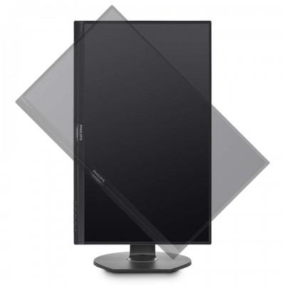 """23.8"""" Philips """"241B7QUPBEB"""", Black (IPS, 1920x1080, 5ms, 250cd, DSub+HDMI+DP+USB-Dock,Spk,HAS/Pvt)"""