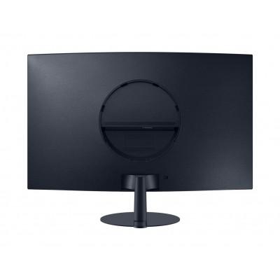 """27.0"""" SAMSUNG """"C27T550FDI"""", Black (Curved-VA Full-HD, FreeSync 75Hz, 4ms, 250cd, HDMI+DP+D-Sub, Spk)"""