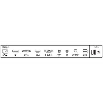 "27.0"" PHILIPS ""272B1G"" Black (IPS 1920x1080, 4ms, 250cd DCR-50M:1, HDMI+DP+DVI+VGA, USB-Hub,Spk,HAS)"