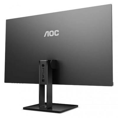 "27.0"" AOC ""27V2Q"", Black (IPS 1920x1080, FreeSync 5ms, 250cd, LED50M:1(1000:1), HDMI+DP)"
