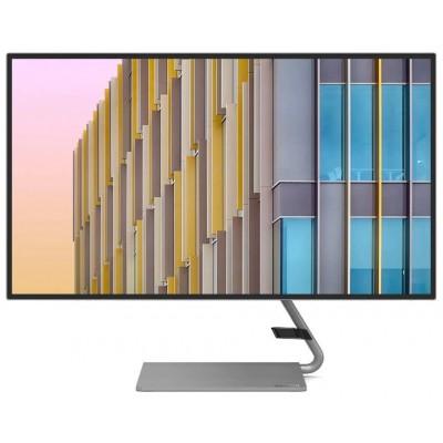"27"" Lenovo Q27h-10, Black (IPS 2560x1440, FreeSync 75Hz,4ms,350cd,DCR-3M:1, HDMI+DP+USB-C, Speakers)"