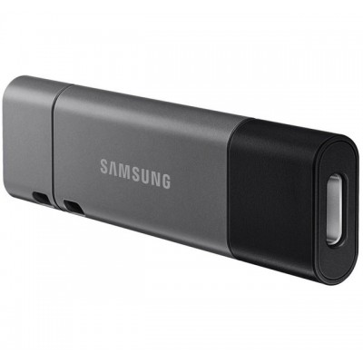 "256GB USB3.1/Type-C Flash Drive Samsung Duo Plus ""MUF-256DB/APC"", Black-Grey, DUO Case (R:200MB/s)"