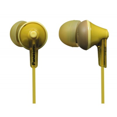 Earphones Panasonic RP-HJE125E-Y Yellow, w/o Mic, 1 x mini-jack 3.5mm