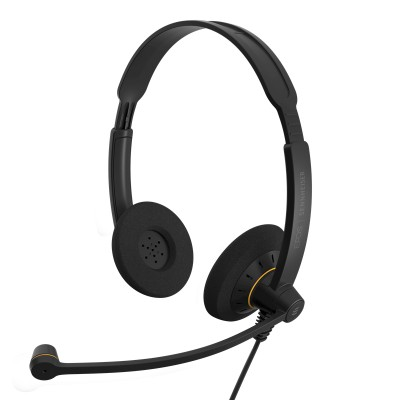 Headset EPOS SC 60 USB, 16—60000Hz, SPL:113dB, microphone with noise canceling