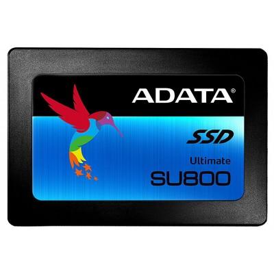 """2.5"""" SATA SSD  512GB  ADATA Ultimate SU800 [R/W:560/520MB/s, 80K/85K IOPS, SM2258, 3D-NAND TLC]"""