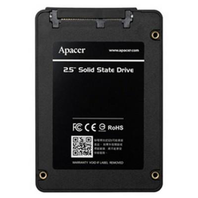"2.5"" SATA SSD  480GB   Apacer ""AS340X"" [R/W:550/520MB/s, 87/80K IOPS, 3D NAND], Retail"