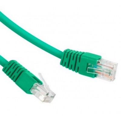 """5m, Patch Cord  Green, PP12-5M/G, Cat.5E, Cablexpert, molded strain relief 50u"""" plugs"""