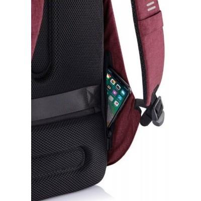 "15.6"" Bobby  Hero Regular anti-theft backpack, Red, P705.294"