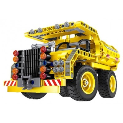 6802, XTech Bricks: 2in1, Construction Dump Truck & Plane, 361 pcs