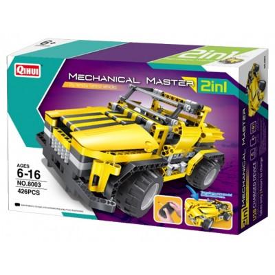 8003, XTech Bricks: 2in1, Pick Up Truck & Roadster, R/C 4CH, 426 pcs