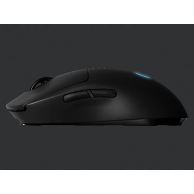 Wireless Gaming Mouse Logitech G Pro, Optical, 100-16000 dpi, 8 buttons, Ambidextrous, 1xAA, Black