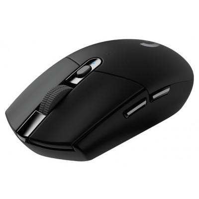 Wireless Gaming Mouse Logitech G305, Optical, 200-12000 dpi, 6 buttons, Ambidextrous, 1xAA, Black